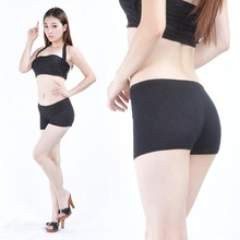 Women Belly Dance Costume Short Black Bodycon Cotton Legging New