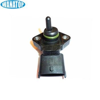 새로운 흡기 매니 폴드 부스트 압력 센서 0281002316 daf ford iveco 5010412448 적합