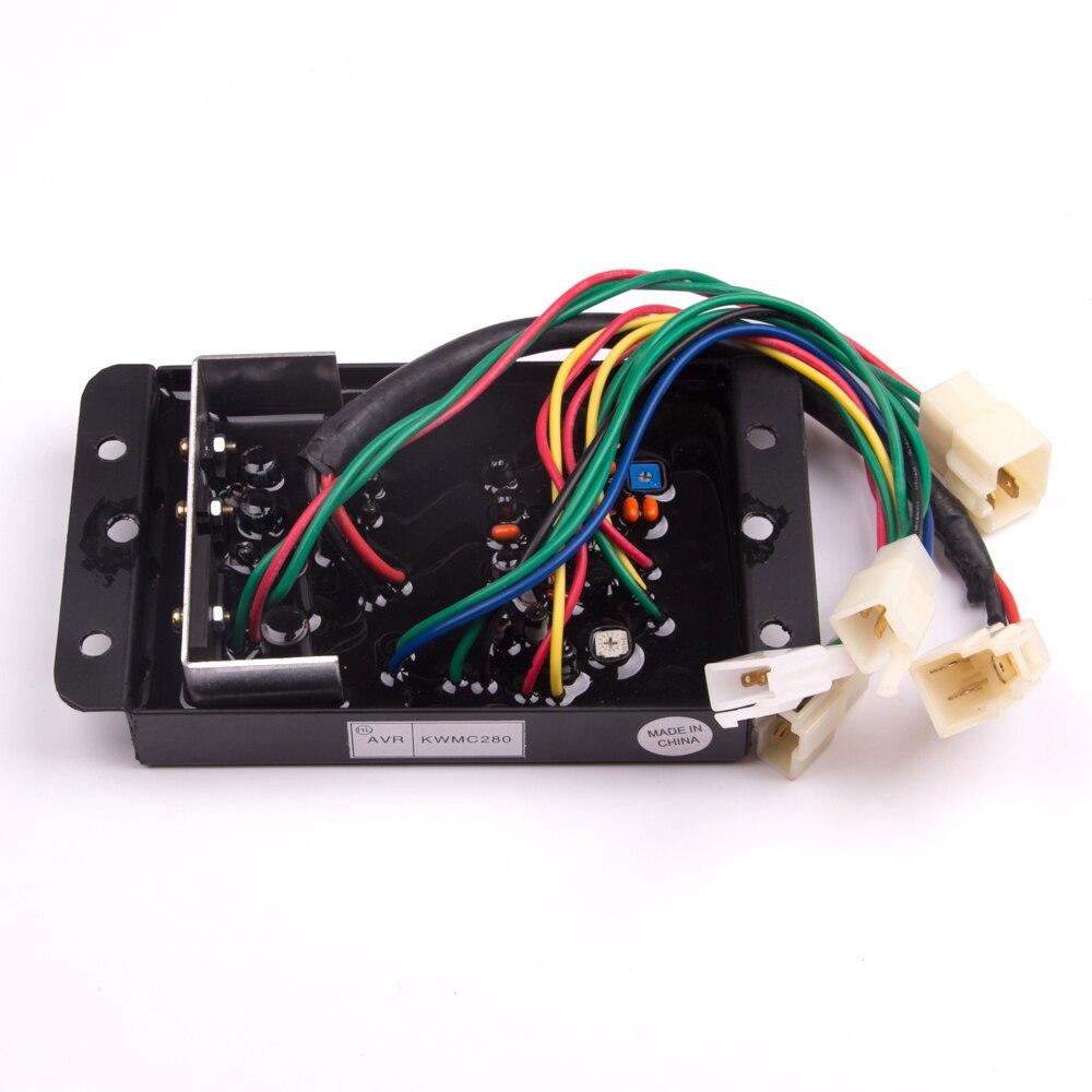 automatic voltage regulator avr for kubota generator genset parts j106 220v [ 1000 x 1000 Pixel ]
