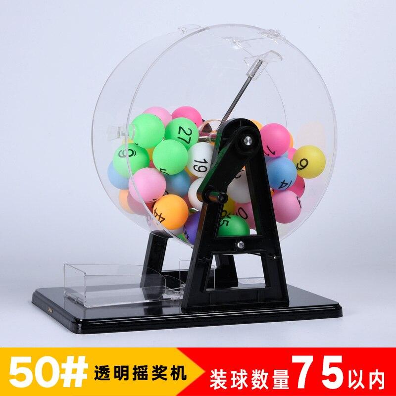Instrukcja wstrząsnąć maszyna do loterii rozrywki zabawki edukacyjne z 1 50 cyfrowy numer kolor kulki gry w Sprzęt edukacyjny od Artykuły biurowe i szkolne na  Grupa 2