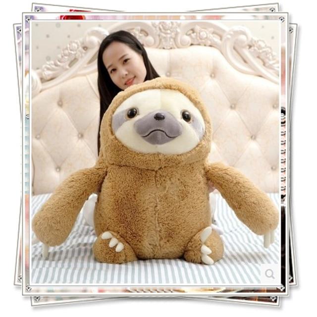 Sloth stuffed animals toys pokemon emoji pillow plush toy cute stuffed animals with big eyes graduation gift minions anime dolls