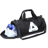 Gym Sports Small Duffel Bag For Men And Women With Shoes Compartment