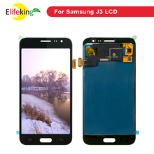 10PCS/Lot Mobile Phone Spare Parts LCD Display For Samsung J3 J320 Display J320M J320P J320F Touch Screen Digitizer Assembly best working mx3 lcd display touch screen digitizer assembly for meizu mx3 smart phone spare parts white