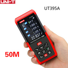 UNI-T UT395A Laser Distance Meters 50m~120m Range Finder with 2MP Lens Rangefinder Best Accuracy 2mm USB Data Export PC Software(China)