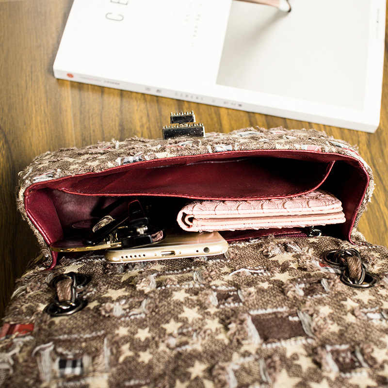 CGMANA Bags For Women 2018 New Luxury Bags Female Fashion Badge Denim Handbags Quality Small Shoulder Bags Women Messenger Bags