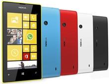 Original Nokia Lumia 520 unlocked mobile phone Dual Core 3G WIFI GPS 4.0″ 5MP 8GB Nokia 520 Windows cell phone