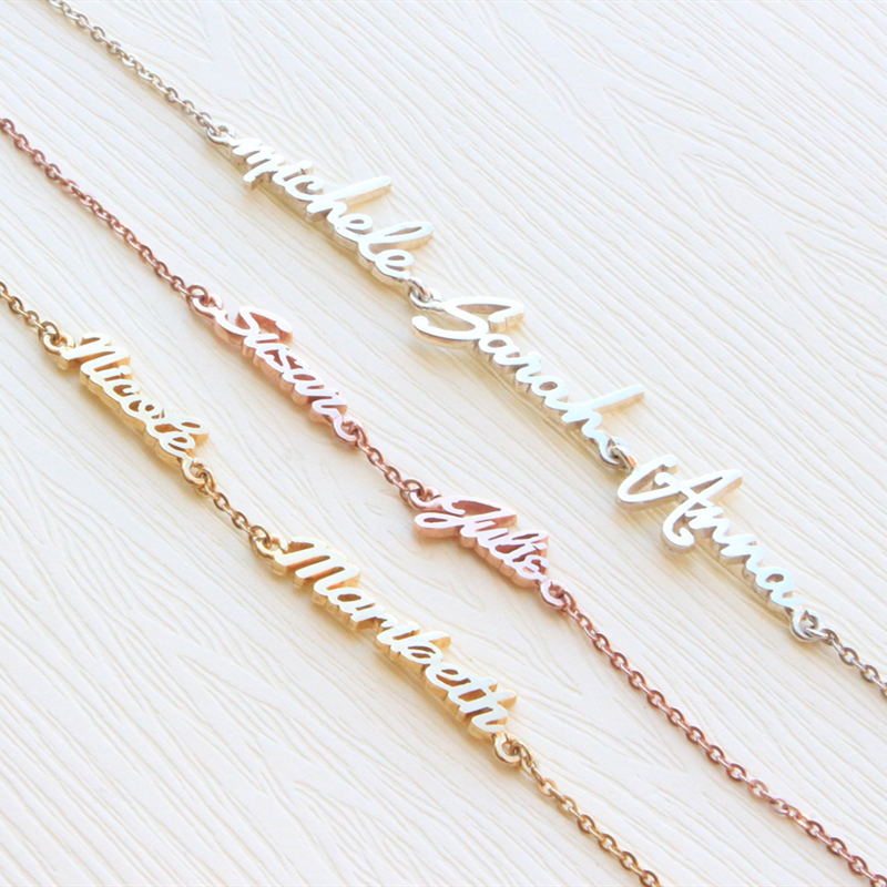 Personalized Three Name Bracelet…