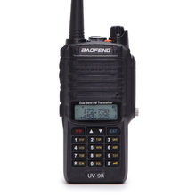 New Baofeng UV-9R Walkie Talkie Dustproof Waterproof Dual Band 136-174/400-520MHZ Two Way Radio