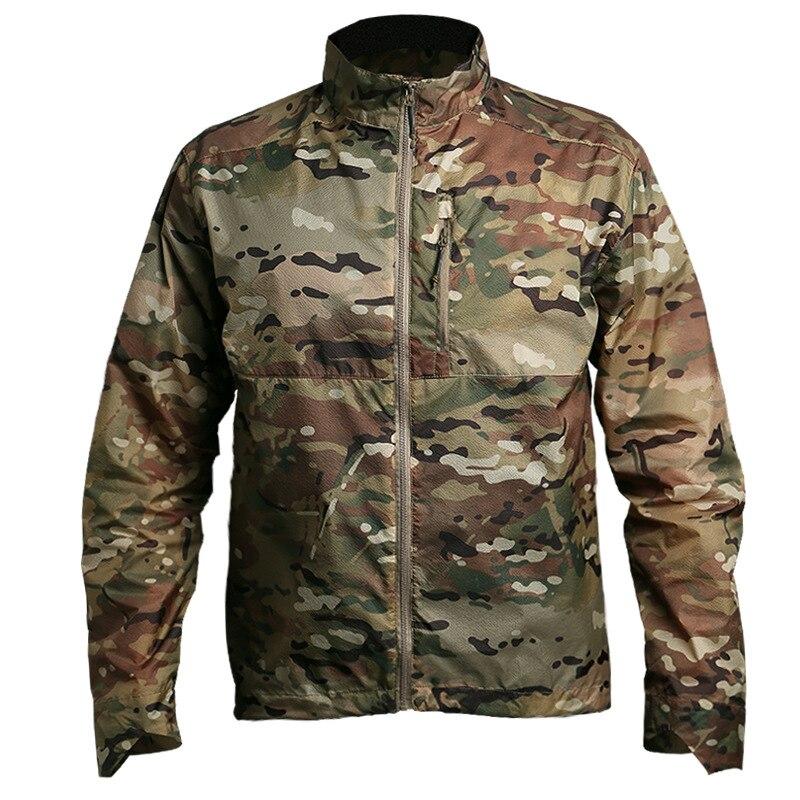 Longues Manteau Respirant Mâle gray À green Black Veste camouflage vent blue tx 01 Lq Camo Seauslim Portable Manches Poids Coupe Hommes Imperméable Vestes Léger Ov8OZq