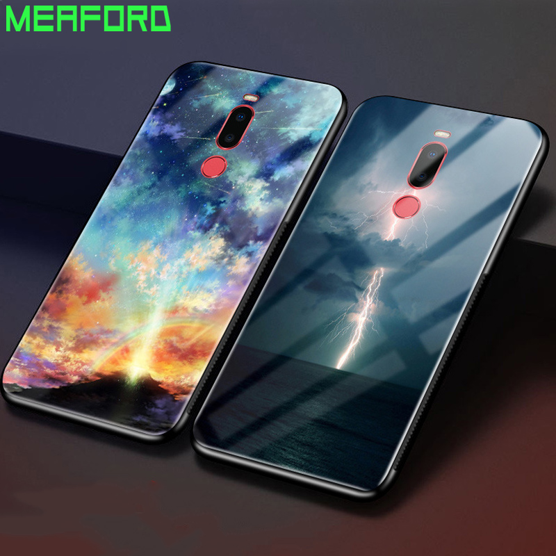 For Meizu X8 Case Tempered Glass Hard Cover For Meizu X8 Glass Back Case for Meizu X 8 8X MeizuX8 X8 Phone Cover Fundas Coque