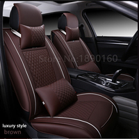 Front Rear Special Leather Car Seat Covers For KIA K2K3K4K5 Kia Cerato Sportage Optima Maxima