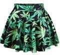2016 Summer Women Pleated Skirt Adventure Time Stawberry Princess SKIRT Saia S/M/L/XL Plus Size