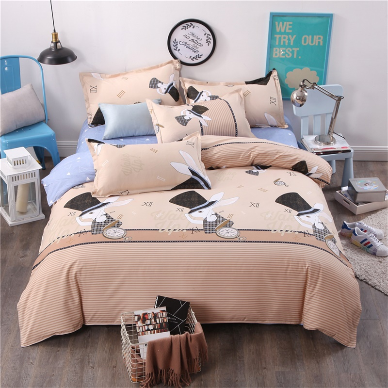 Mandala Bedding Posture Million Romantic Soft Bedclothes Plain Queen Boho 3Pcs drap de lit Favorite Bohemia