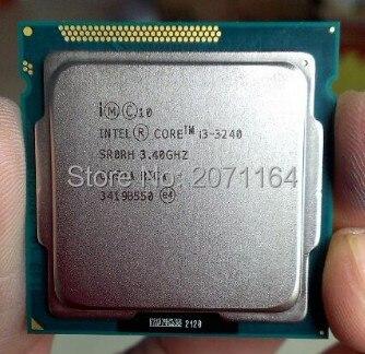 Бесплатная доставка для Intel i3-3240 3.4 Г 22 нм официальная версия настольный компьютер CPU