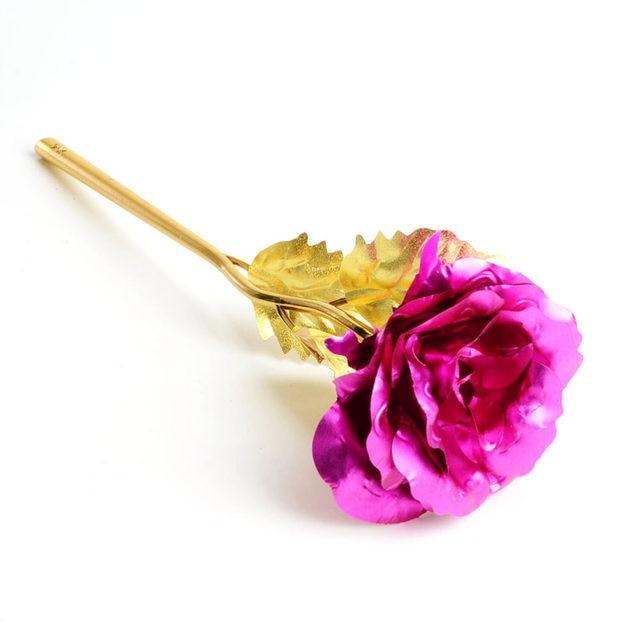 Tienda Online Nueva Hot rushed oro color hoja de plástico Rosa ...