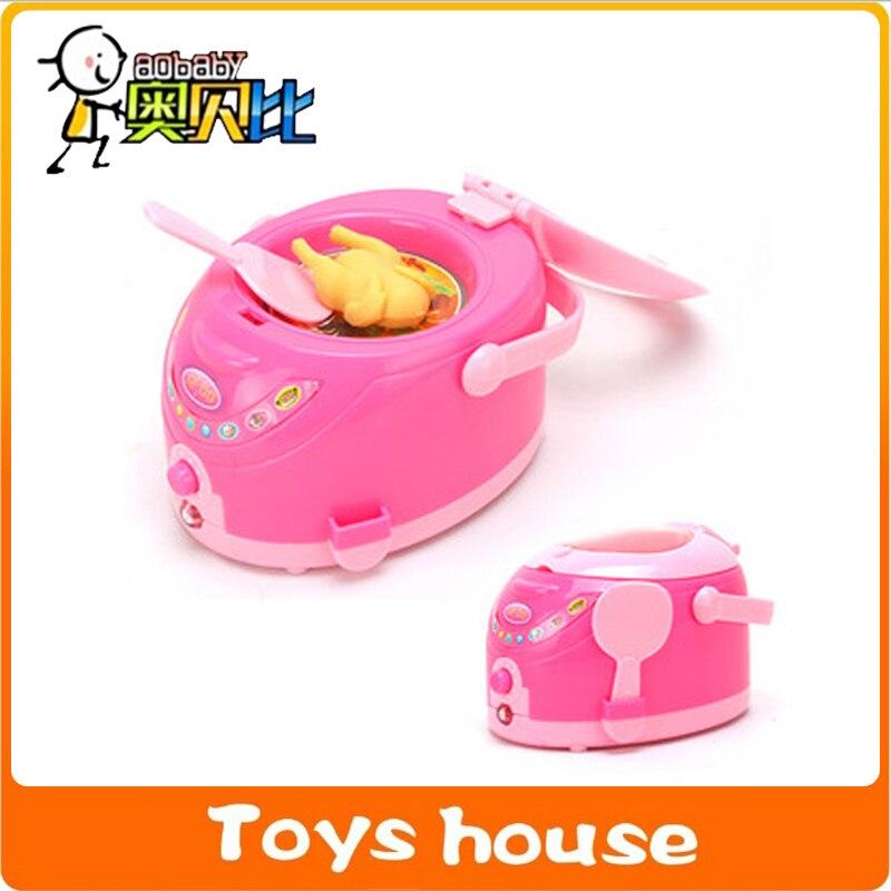 pequeo mini hogar olla arrocera elctrica juguete de la muchacha mini geladeira menina envo gratis cocina juguetes cocinar