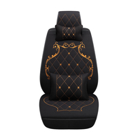 New High Quality Linen British Style Universal Car Seat Cover For Benz Mercedes W163 W164 W166