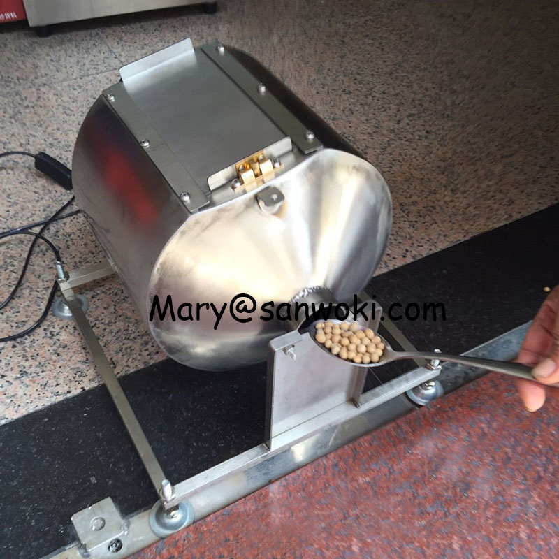 9L Coffee Bean Soybean Roaster Machine LPG Household Rotation Automatic Nut Grains Medicine Multifounctional Roasting Machine(China)