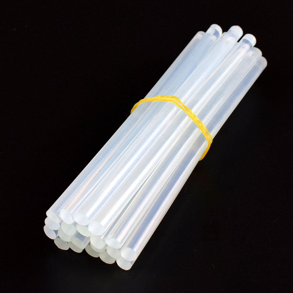 Chanseon 20pcs lot Diameter 7MM White Hot Melt Glue Stick Professional Length 150MM Hot Melt Glue