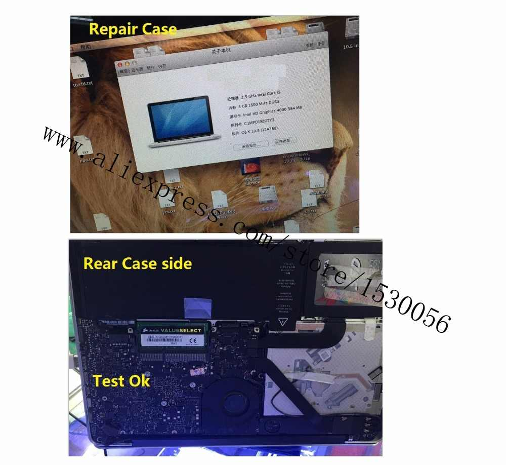 motherboard fix for MACBOOK AIR PRO,fix mother board Logic board cpu chips,for A1502 A1466 A1398 A1370 A1369 A1286 A1278 model