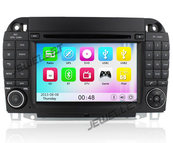 Car DVD GPS radio Navigation for Benz S class W220 1999-2005 with 3G/Wifi DVR 1080P