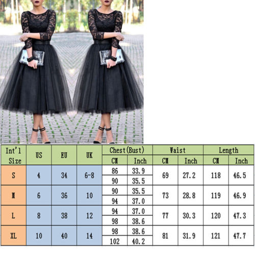 Cuerly 2019 Women Sexy Formal Long Lace Evening Party Club Wear Dress Casual O neck three Quarter sleeve Ball Grown Dresses in Dresses from Women 39 s Clothing