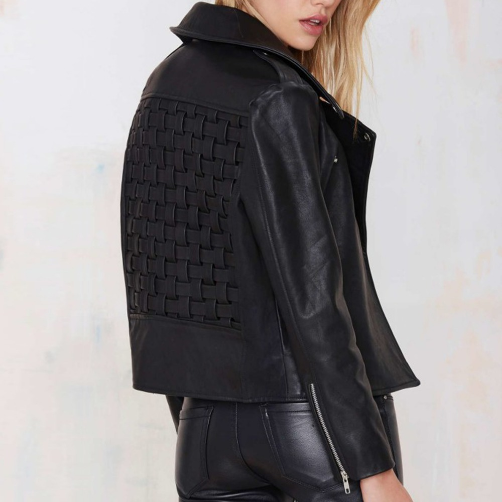 Cool womens leather jackets