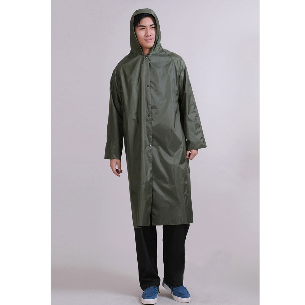 Unisex Impermeable Outdoor Work Poncho Raincoat Men And Women ...