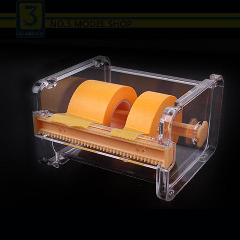 Modell Spezielle Klebeband Masking Bandspender Bandabschneider Hobby Handwerk Werkzeuge Zubehör Modellierung Werkzeug