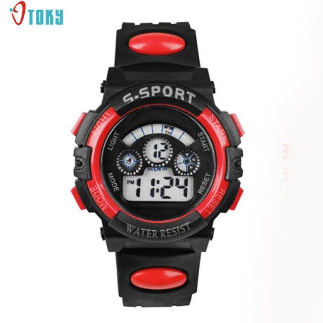 1PC Fashion Young Mens Boys Clocks Digital LED Watches Alarm Date Sports Wrist W