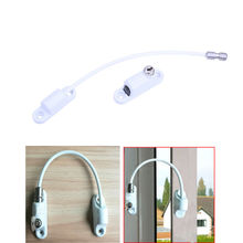 High Quality Zinc Alloy Cable Restrictor Baby Safety Lock Lockable Window Lactch with Key