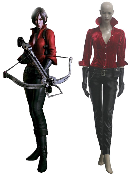 Ada Wong Cosplay Costume Full Set Custom Made Any Size