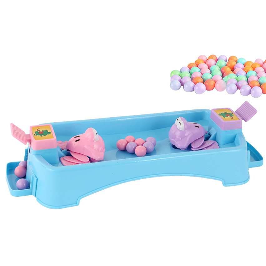 Hungry Frog Eating Beans Children Board Strategy Games Toy Family Toy  Early Education Toys For Children