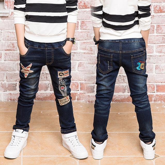 Regalo de Año nuevo, pantalones vaqueros chico para los niños usar el estilo de moda y de alta calidad pantalones vaqueros de los niños, pantalones vaqueros chicos 2-14 años de edad childre