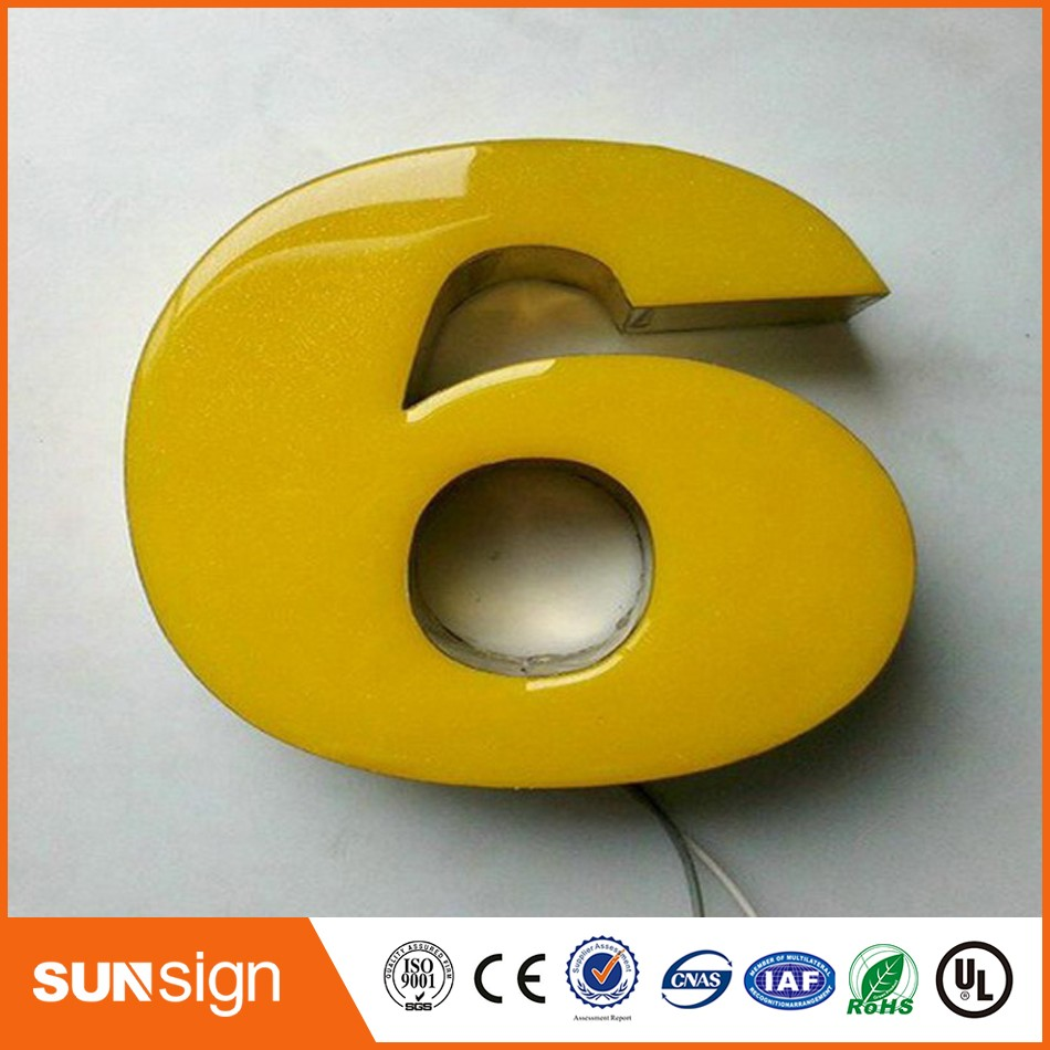 Wholesale Decorative Coffee Store Sign Led Acrylic Letters