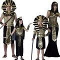 Бесплатная Доставка Египет Фараон Костюм Хэллоуин Полный Комплект Косплей Платье для Детей/Дети Одежда E1358