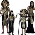 Free Shipping Egypt Pharaoh Costume Halloween Full Set Cosplay Party Dress for Children/Kids Clothing E1358