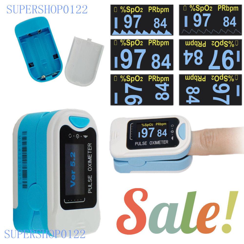 oksimetre de pouls, OLED konica prstov, Moniteur d'oxygene du sang, SPO2, PR, HR, CMS50NA