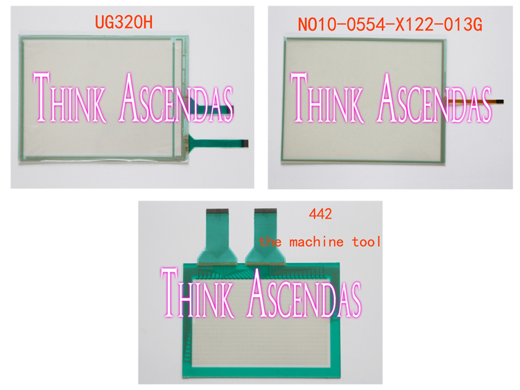 1pcs New UG320H UG320H-SC4 UG320H-SS4 UG320H-VS4 / NO10-0554-X122-013G 10.4 inches / 442 the machine tool Touchpad рубашка mango man mango man he002empev11
