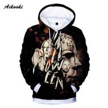 ehuanhood Dot Teen Wolf 3D Men Women Lion Hoodie with Hat Casual Tracksuits