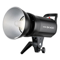 Godox SK400 Professional Studio Flash SK Series 220V Power Max 400WS GN65 with Lamp + Standard Reflector + Charger