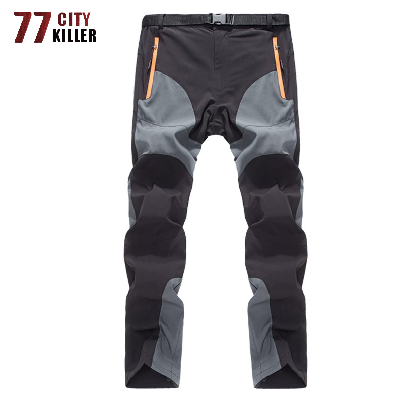 Summer Lightweight Pants Men Breathable Waterproof Quick Dry Tactical Joggers Male Outdoor Men's Trousers Cargo Pants S-3XL