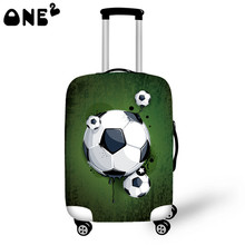 ONE2 Desgin Printing 3D theme Cover Apply to 22,24,26 Inch Suitcase custom polyester spandex Luggage cover