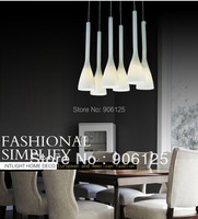 New Modern Glass Shade Chandelier Light Lamp Hanging Fixture X 3 Guaranteed 100 Free Shipping