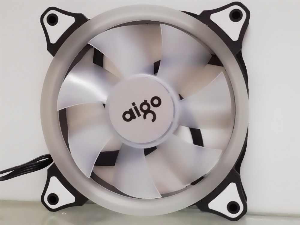 Aigo aurora c3/c5 computer fall pc lüfter kühler fan rgb einstellen led 120mm kühlung kühler silent lüfter drahtlose fernbedienung