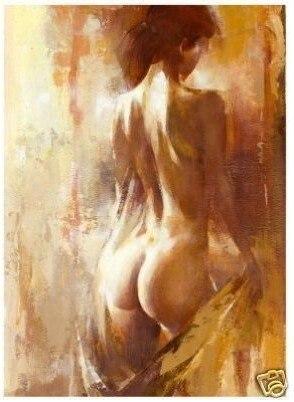 Nude paint oil fine Art