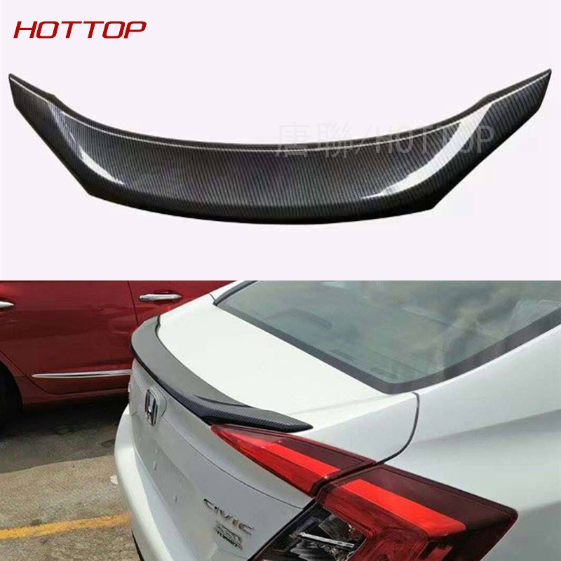 Spoiler ABS Car Special Paint For 2016 2017 Honda Civic