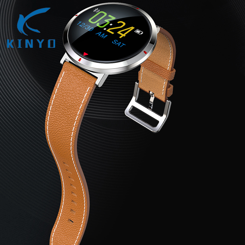 Kinyo 2018 IPS color screen sport fashion smart band heart rate Health Fitness Tracker Smart wirstband bracelet Call Reminder|Smart Wristbands| |  -