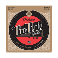D'addario EJ43 EJ44 EJ45 EJ46 EJ49 EJ59 Pro Arte Nylon Classical Guitar Strings set, Normal/Hard Tension