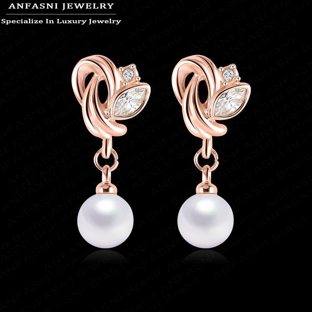 AAA 15-25 mm South Sea Blanc Perle Baroque Boucles D/'Oreilles 14K Or Jaune Plaqué 16